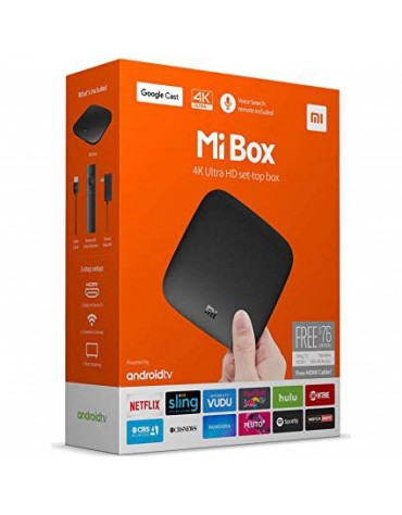 RECEPTOR XIAOMI MI BOX TV 4K ULTRA HD