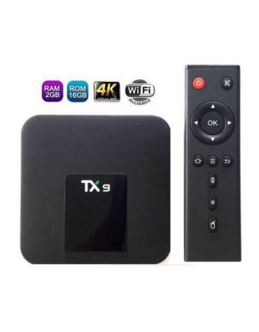 RECEPTOR IPTV+ TX9 HD+ 4K