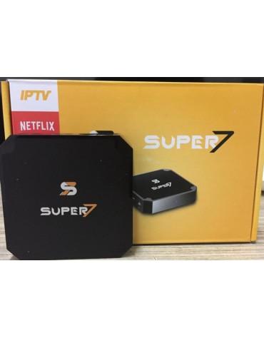 RECEPTOR IPTV SUPER 7 ULTRA 4K PRETO