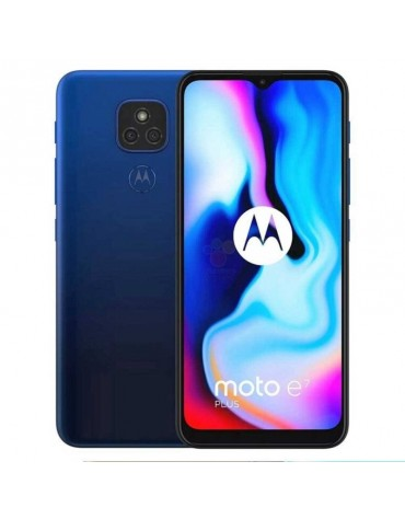 Celular Motorola Moto E7 Plus XT2081-7 4+64GB Dual Sim Azul