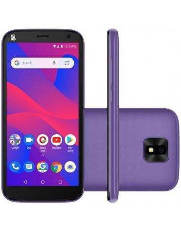 "Celular Blu J4 Dual Sim 3G Tela 5.5"" 1GB/32GB Roxo"
