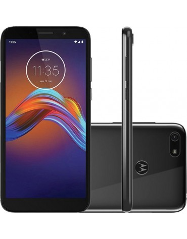 Celular Motorola Moto E6 Play XT2029-1 2+32GB Dual Chip Preto