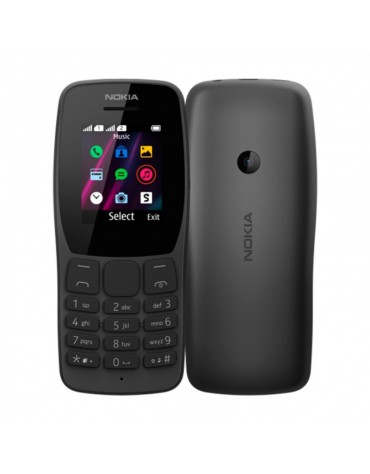 Celular Nokia 110 TA-1319 2G 4Band Dual Chip Preto