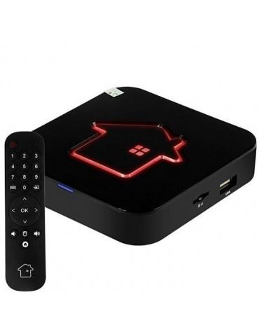 RECEPTOR IPTV HTV BOX 6 PLUS 4K WIFI