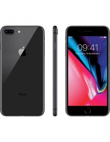 Celular Apple Iphone 8 Plus Grado A 256GB Americano Preto