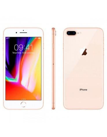 Celular Apple Iphone 8 Plus Grado A 256GB Americano Dourado