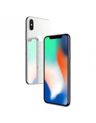 Celular Apple Iphone X 256GB Grado A Americano Prata