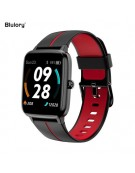 Smartwatch Blulory Glifo 5 Pro GPS Preto e Vermelho