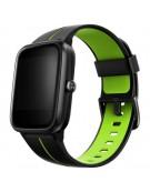 Smartwatch Blulory Glifo 5 Pro GPS Preto e Verde