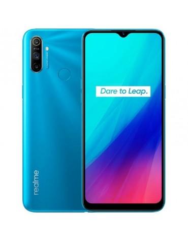 """Celular Realme C3 RMX2027 2+32GB """"Indu"""" Dual Sim Azul"""